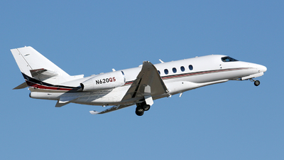 A picture of N620QS - Cessna 680A Citation Latitude - NetJets - © Kevin Porter
