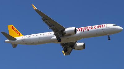 TC-RBE - Airbus A321-251NX - Pegasus Airlines