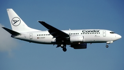 D-AGES - Boeing 737-75B - Condor
