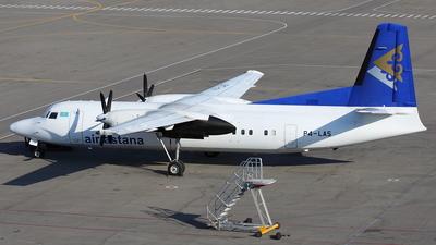 P4-LAS - Fokker 50 - Air Astana