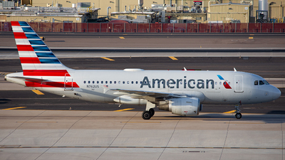 A picture of N762US - Airbus A319112 - American Airlines - © Alexander Owen
