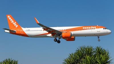 G-UZMG - Airbus A321-251NX - easyJet