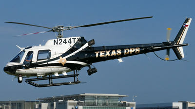 N244TX  - Aérospatiale AS 350B2 Ecureuil - United States - Texas Department of Public Safety