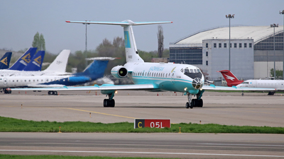 UN-65683 - Tupolev Tu-134A - Kazakhstan - Government