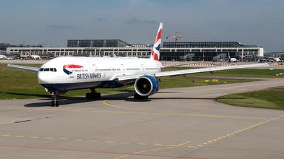 A picture of GSTBJ - Boeing 777336(ER) - British Airways - © Marco Wolf