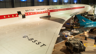 G-BSST - Aérospatiale/British Aircraft Corporation Concorde - Aérospatiale/British Aircraft Corporation