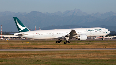 B-KQG - Boeing 777-367ER - Cathay Pacific Airways