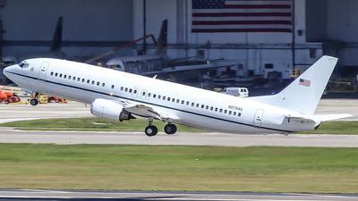 N279AD - Boeing 737-4Q8 - United States - Marshals Service
