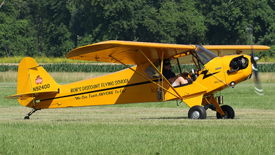 N92400 - Piper J-3C-65 Cub - Private