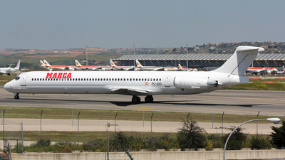 EC-JUG - McDonnell Douglas MD-83 - Swiftair