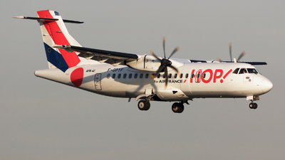 F-GPYF - ATR 42-500 - HOP! for Air France