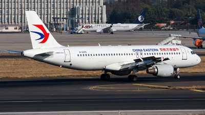A picture of B6005 - Airbus A320214 - China Eastern Airlines - © Chingwang Lee