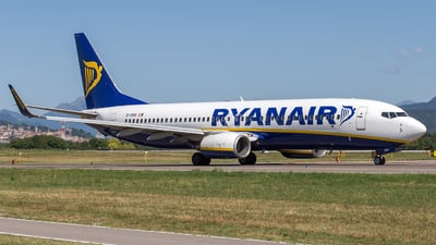 A picture of EIDHH - Boeing 7378AS - Ryanair - © Mauro Cassaro