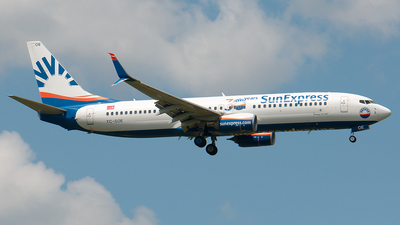 A picture of TCSOE - Boeing 7378HC - SunExpress - © Christian  Duda