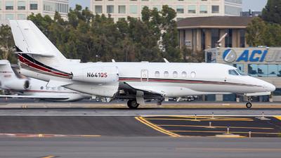 N641QS - Cessna Citation Latitude - Private