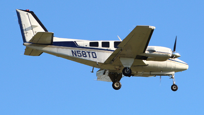 N58TD - Beechcraft 58P Baron - Private