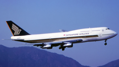 N117KC - Boeing 747-312 - Singapore Airlines