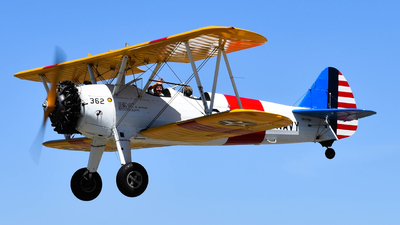 VH-YND - Boeing E75N1 Stearman - Private