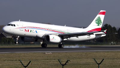 OD-MRO - Airbus A320-232 - Middle East Airlines (MEA)