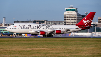 G-VXLG - Boeing 747-41R - Virgin Atlantic Airways