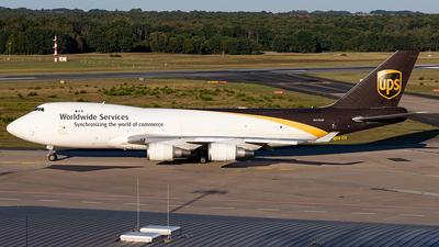 N570UP - Boeing 747-44AF(SCD) - United Parcel Service (UPS)
