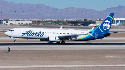 A picture of N469AS - Boeing 737990(ER) - Alaska Airlines - © Taxi_Way_