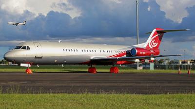 VH-VIF - Fokker 100 - Alliance Airlines