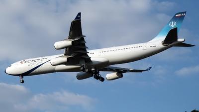 EP-DAA - Airbus A340-313 - Iran - Government