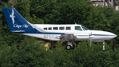 A picture of N751CA - Cessna 402C - Cape Air - © Westley Bencon