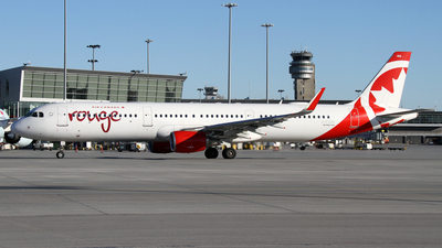 A picture of CFJOK - Airbus A321211 - Air Canada Rouge - © Daniel Lapierre Forget