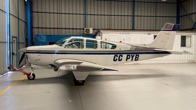 CC-PYB - Beechcraft F33A Bonanza - Private