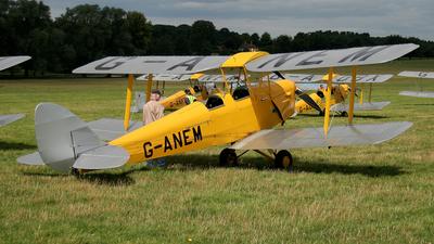 A picture of GANEM - De Havilland DH82 Tiger Moth - [82943] - © Terry Figg