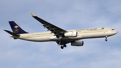 HZ-AQI - Airbus A330-343 - Saudi Arabian Airlines