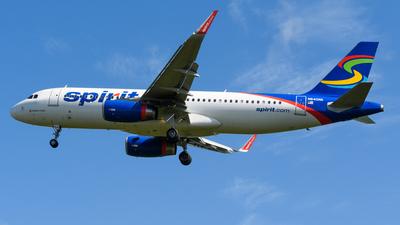 N640NK - Airbus A320-232 - Spirit Airlines