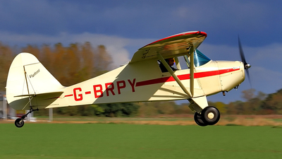G-BRPY - Piper PA-15 Vagabond - Private