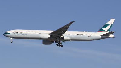 B-HNR - Boeing 777-367ER - Cathay Pacific Airways
