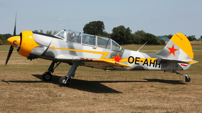 OE-AHH - Aerostar Yak-52 - Private