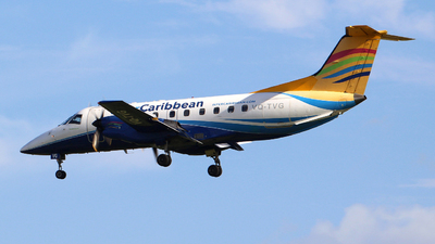 A picture of VQTVG - Embraer EMB120RT Brasilia - InterCaribbean Airways - © Guy Langlois