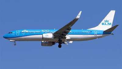 A picture of PHHSD - Boeing 7378K2 - KLM - © DesertWolf
