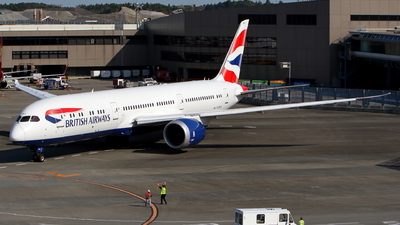 G-ZBKA - Boeing 787-9 Dreamliner - British Airways