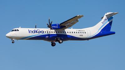 F-WWEW - ATR 72-212A(600) - IndiGo Airlines