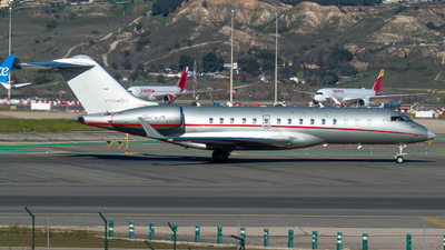 9H-VJM - Bombardier BD-700-1A10 Global 6000 - VistaJet
