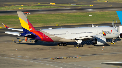 A picture of HL8381 - Airbus A350941 - Asiana Airlines - © John Yu