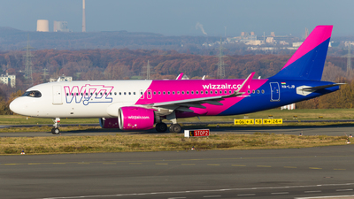 A picture of HALJB - Airbus A320271N - Wizz Air - © Tim-Patrick Müller