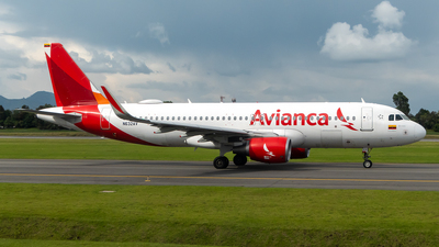 A picture of N632AV - Airbus A320214 - Avianca - © Cristian Quijano