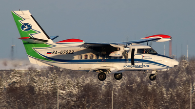 RA-67022 - Let L-410UVP-E20 Turbolet - Komiaviatrans
