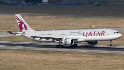 A picture of A7AEC - Airbus A330303 - Qatar Airways - © RAFAL KUKOWSKI