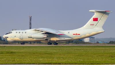 21042 - Ilyushin IL-76MD - China - Air Force