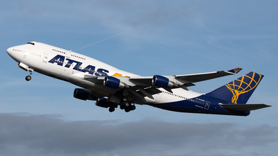 N480MC - Boeing 747-422 - Atlas Air