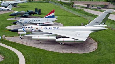 55-0663 - Convair TB-58A Hustler - United States - US Air Force (USAF)